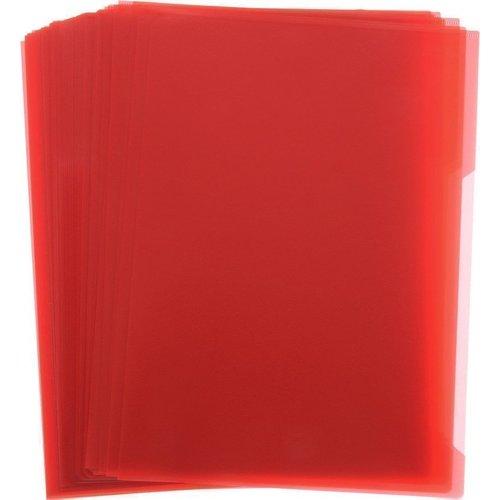 лучшая цена Папка-уголок А4 красная