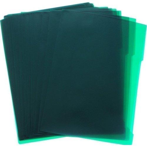 лучшая цена Папка-уголок А4, зеленая