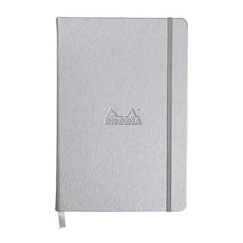 Блокнот в линейку А5 серебро блокнот joy book а5 96 листов в линейку голубой