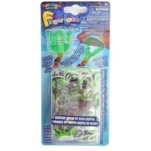 Набор для плетения браслетов Фингер Лум зелёный набор для плетения браслетов фингер лум розовый r0039в