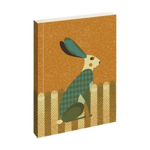 "Блокнот ""Wildlife Dusk Hare"", 72 листа, в линейку"