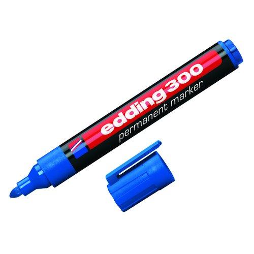 Маркер перманентный, синий officespace маркер перманентный двухсторонний цвет синий