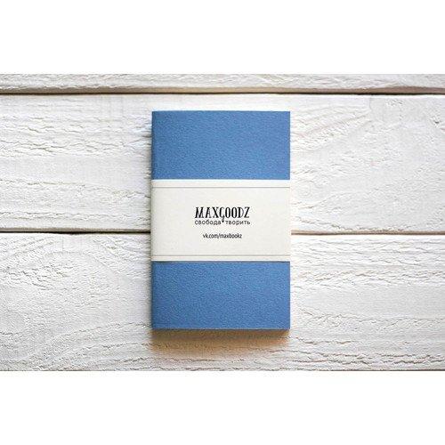 Скетчбук Pocket голубой A6