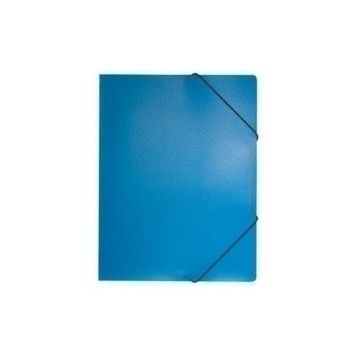 Папка на резинке А4 темно-синяя папка на резинке monocromo а4