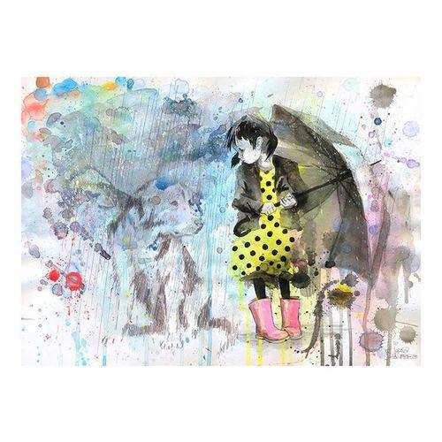 Принт Rain Dog А3 принт blue bird song а3