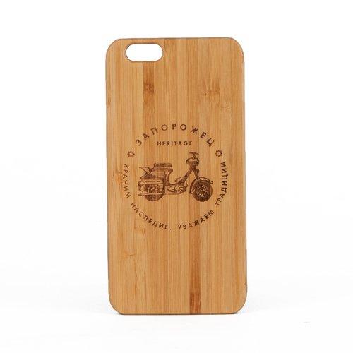 Чехол для iPhone 6/6S Мопед. Дерево коричневый чехол запорожец простоквашино лица коричневый iphone 6