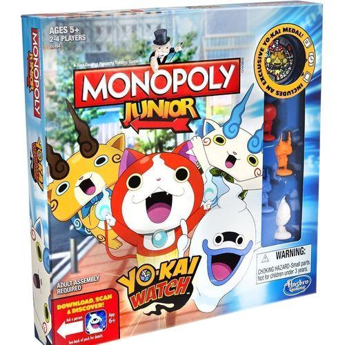 Настольная игра Монополия. Yo-Kai Watch настольная игра для вечеринки hasbro монополия моя первая игра a6984h