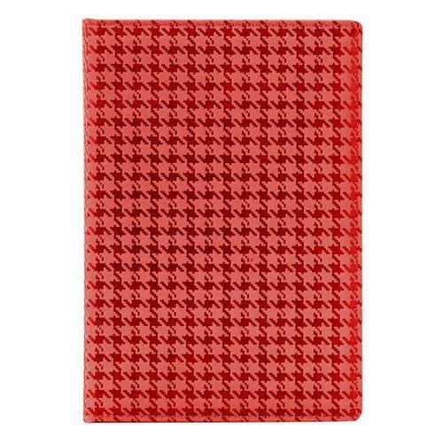 Ежедневник недатированный Tweed Red