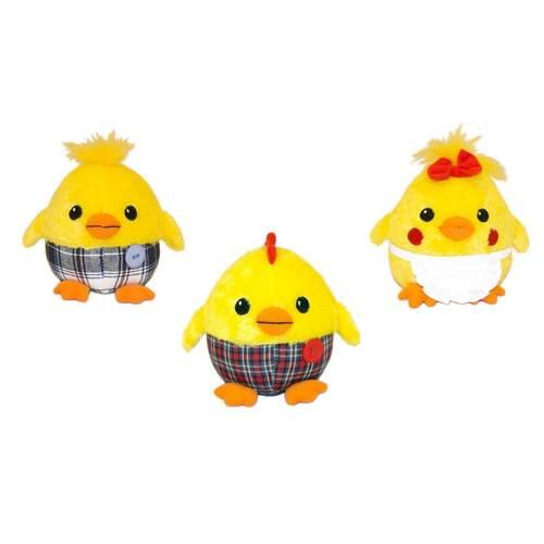 Мягкая игрушка Цыпленок Солнышко в штанишках, 12 см игрушка