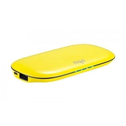 Фото - Внешний аккумулятор Tigo 6000, желтый, 6000 мАч внешний аккумулятор perston smile желтый