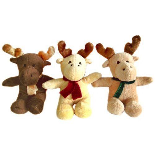 Мягкая игрушка Рождественский олень, 13 см мягкая игрушка олень chl 500dr 28 см