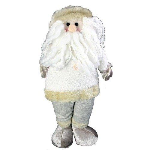 Мягкая игрушка Белый Санта/Белый Лось, 35 см игрушка мягкая monte christmas санта клаус снеговик 11 16 27 см