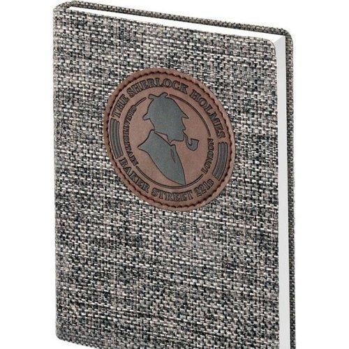 """Ежедневник недатированный """"Sherlock"""" А6+, 192 стр., Infolio  - купить со скидкой"""