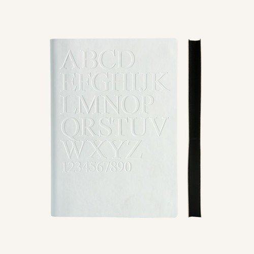 Блокнот в линейку Signature Gutenberg А5 белый
