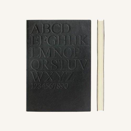 Блокнот в линейку Signature Gutenberg А5 черный