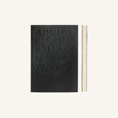 Блокнот в линейку Signature Gutenberg А6 черный