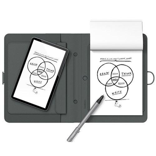 """Цифровой блокнот с карманом для планшетов """"Bamboo Spark"""" CDS-600P"""