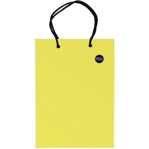 цены Пакет подарочный, 10 х 14 см, желтый