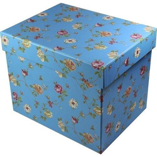 Подарочная коробка, синяя подарочная коробка лимоны 19 х 12 5 х 8 см