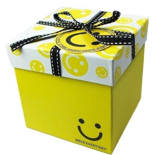 Подарочная коробка, желтая коробка подарочная на рождение ребенка большого размера