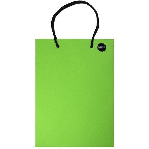 Пакет подарочный зеленый