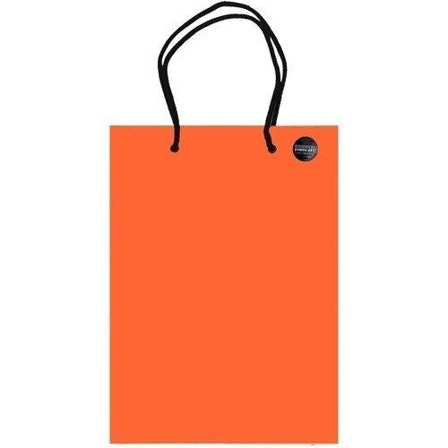 Пакет подарочный А5, оранжевый, 20 х 25 см накопитель ssd afox afsn8t3bn120g 120gb 2 5 sata3 0 up to 480 440mbs intel 3d tlc smi2258xt 7mm retail