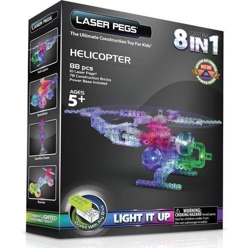 Конструктор 8 в 1 Вертолет конструктор пластиковый laser pegs набор 8 в 1 энергоблок грузовик 107эл