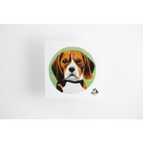 Временное тату Beagle шапка totti totti mp002xw0h76x