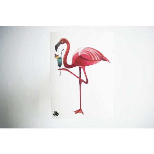 """Временное тату """"Flamingo"""""""