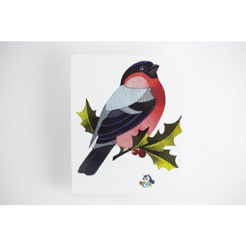 Временное тату Bullfinch