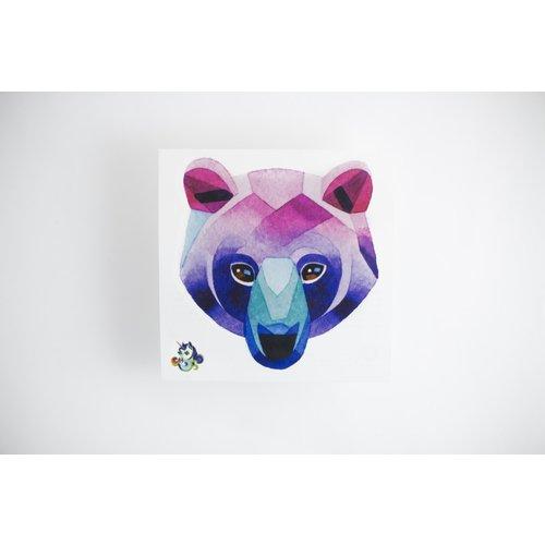 "Временное тату ""Bear"""