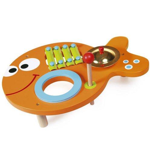 Музыкальный инструмент Рыбка Морис музыкальный инструмент аполлона 6 букв