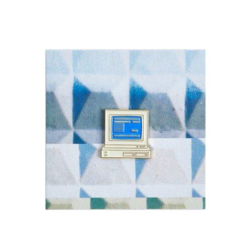 Значок металлический 90 Компьютер компьютер цена