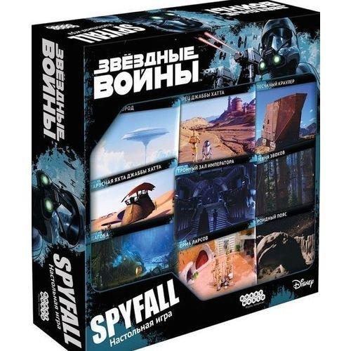 Настольная игра Звездные Войны. Spyfall