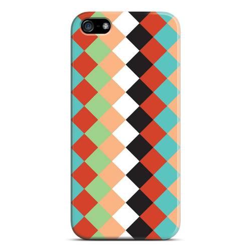 "лучшая цена Чехол для iPhone 5 ""Ромб"""