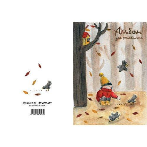 Альбом для рисования Птицы А4 альбом для рисования 20 листов пи джей маски