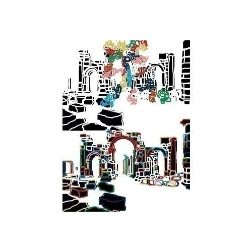 """Постер """"Разрушение Пальмиры"""" А2"""
