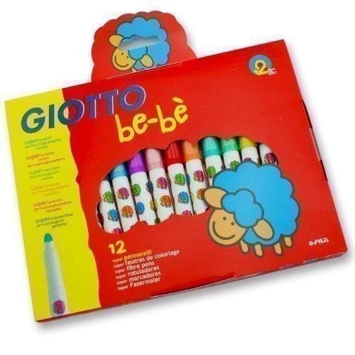 """Детские фломастеры с толстым стержнем """"Super Fibre Pens"""", 12 цветов"""