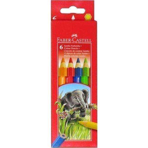 """Карандаши цветные """"Jumbo"""", 6 цветов карандаши oceanic 24 цвета трехгранный корпус м 6133 24"""