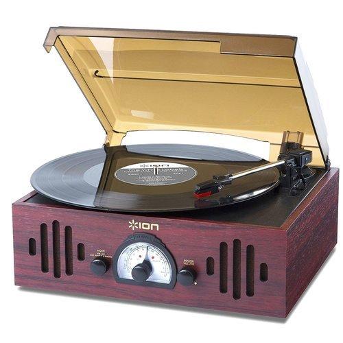 """Виниловый проигрыватель """"Trio LP"""", с радио"""