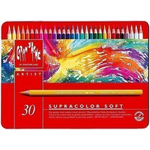 Карандаши цветные Supracolor, 30 цветов карандаши цветные сибирский кедр веселые карандаши 12 цветов в блистере ск039 12