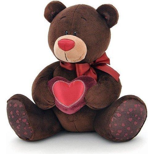 Купить Мягкая игрушка Медведь с сердцем , 15 см, Orange Toys, Мягкие игрушки