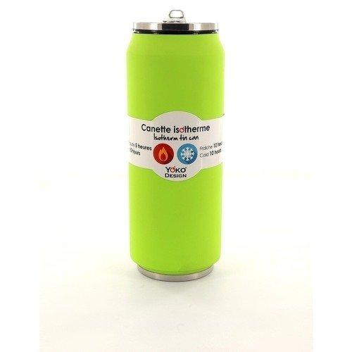 Термобанка Soft 7766G 500 мл зеленая термобанка soft touch 280 мл розовая