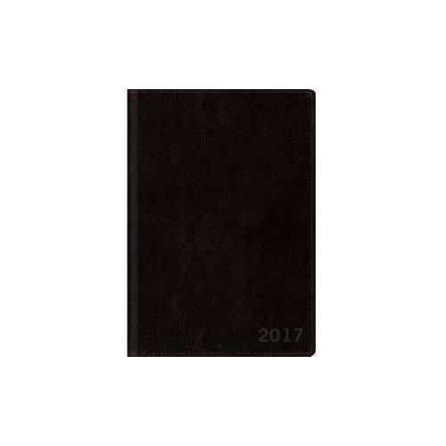 Ежедневник датированный Classic А5 2017 черный ежедневник listoff офисный стиль яркий цвет а5 176 листов