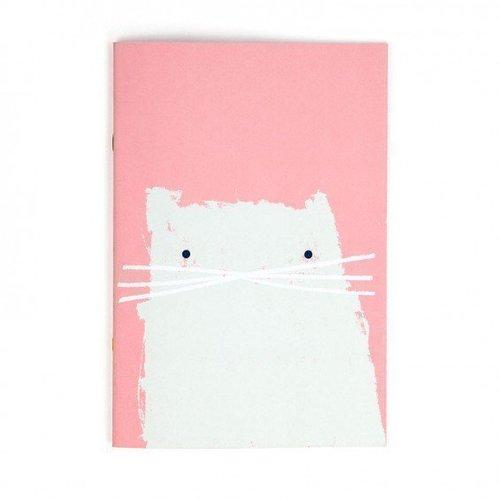Блокнот в линейку Cat А4 блокнот lucie animals а4 22 листа в линейку