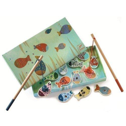 Магнитная игра Рыбалка Мечты djeco обучающая игра рыбалка мечты