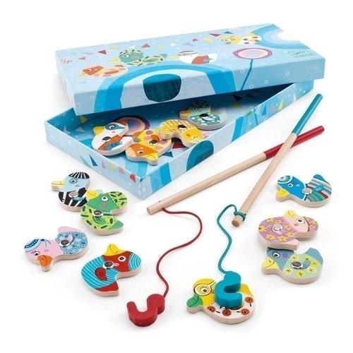 Купить Магнитная игра Поймай утку , Djeco, Развлекательные и развивающие игрушки