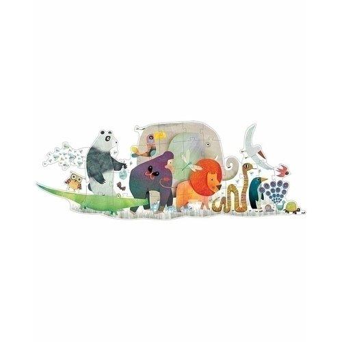 Купить Пазл–гигант Животные , 36 элементов, Djeco, Пазлы