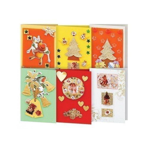 """Набор для создания 6-ти открыток """"Новогодняя сказка"""" 247-SB"""
