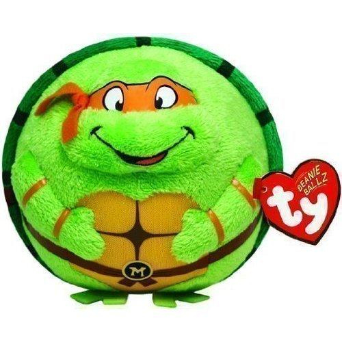 Мягкая игрушка Черепашка-ниндзя Микеланджело, 12,7 см цена